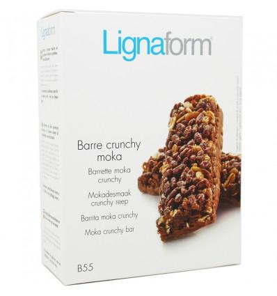 Lignaform Barrita Crunchy Moka 5 Unidades