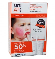 Leti At4 Crema facial 50 ml Duplo Ahorro