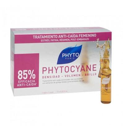 Phyto Phytocyane Anticaida 12 Ampollas