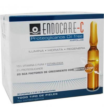 Endocare C Proteoglicanos Oil Free 30 Ampollas oferta