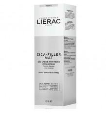 Lierac Cica-filler Mat Gel Creme anti-rugas Reparadora 40 ml