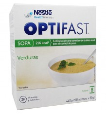 Optifast Sopa de Verduras 8 Sobres