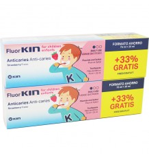 Fluorkin Infantil Anticaries Pasta Dental 100 ml Duplo