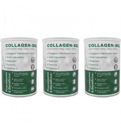 Collagen Bel 500 gramos Triplo Ahorro