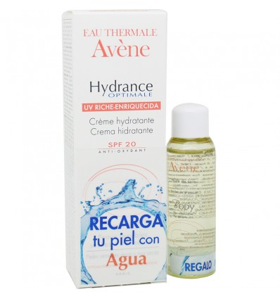 Avene Hydrance Optimale UV Rica 40 ml Regalo Huile de Soin