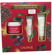 Caudalie Vinosource Sos Crema 50 ml Serum 10 ml Mascarilla Hidratante Cofre