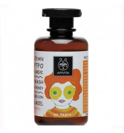 Apivita Champu Gel Baño Niños Mandarina Miel 250 ml