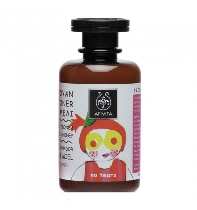 Apivita Champu Acondicionador Granada Miel 250 ml