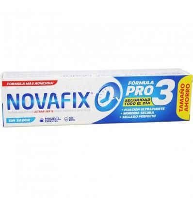 Novafix Ultrafuerte Sin Sabor 70 g Tamaño Ahorro