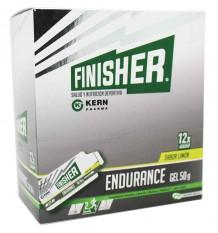 Finisher Endurance Gel Limon 12 Sobres composicion