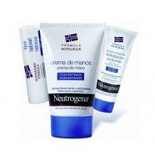 Neutrogena Creme de Mãos 50 ml Pack Batom Locion