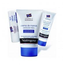 Neutrogena Crème Mains 50 ml Pack Lèvres Lotion