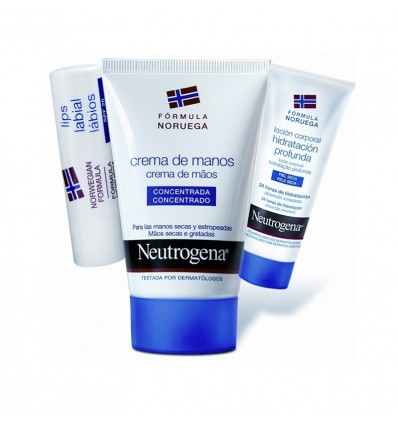 Neutrogena Crema de Manos 50 ml Pack Labial Locion