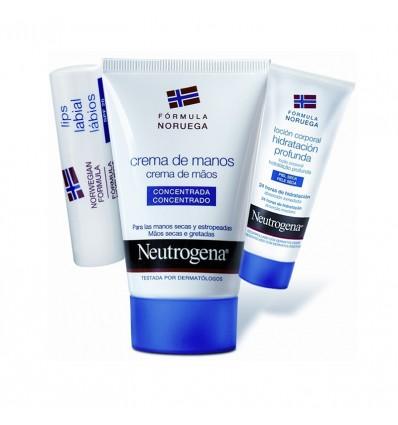 Neutrogena Handcreme 50 ml-Pack-Lippen-Lotion