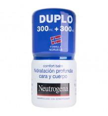 Neutrogena l'Hydratation de la peau en Profondeur du Visage et du Corps 600 ml Duplo