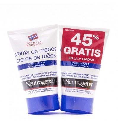 Neutrogena Crema de Manos Concentrada Duplo 100ml
