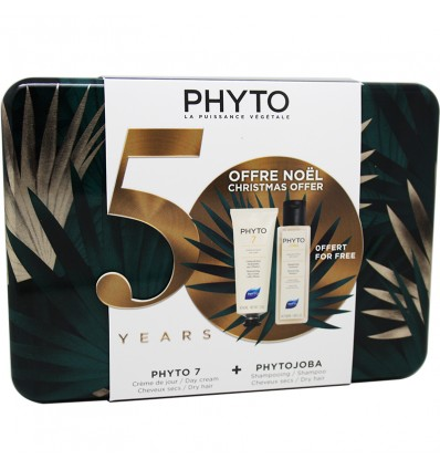 Phyto 7 Crema Dia 50 ml Phytojoba Champu 100 ml Cofre