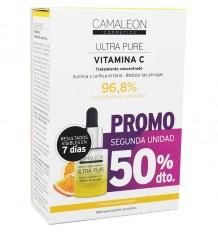 Camaleon Ultra de la Vitamine C Pure Duplo Économie 30ml