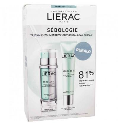 Lierac Sebologie Doble Concentrado 30ml Gel Seboregulador 40ml
