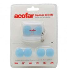Fones de ouvido de silicone acofar