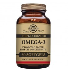 Solgar Omega 3 Triplo Concentração De 50 Cápsulas
