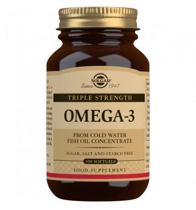 Solgar Omega 3 Triple Concentracion 100 Capsulas