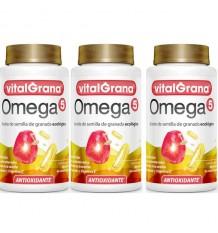 Vitalgrana Omega 5 180 Capsules Three Promotion
