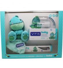 Vitis Baby Cepillo Gel Balsamo 30 ml Dedal Muñeco Pack