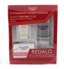 Eucerin Volume Filler Dia Seca Dermatoclean 200 ml Muestra Solar