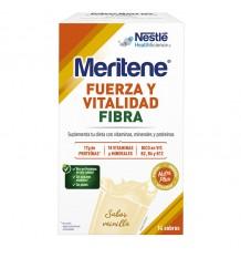 Meritene Vanille-Faser-14-Umschläge