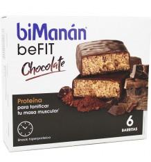 Bimanan Befit Barrita Chocolate 6 Unidades