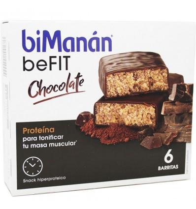 Bimanan Befit Barra De Chocolate 6 Unidades