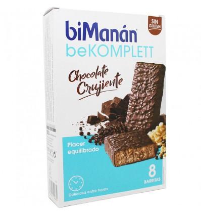 Bimanan Bekomplett Chocolate Crujiente 8 unidades