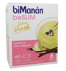 Bimanan Beslim Puddingpulver Vanille 6 Einheiten