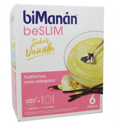 Bimanan Beslim Natillas Vainilla 6 unidades