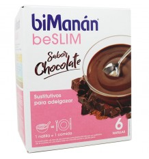 Bimanan Beslim Creme Chocolate 6 unidades