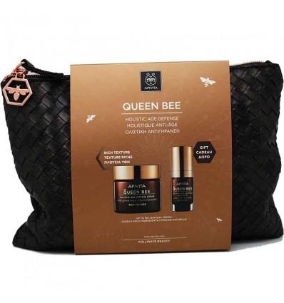 Apivita Queen Bee Rica 50 ml Contorno 15 ml Bolso