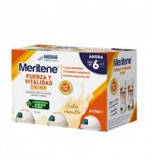 Meritene Drink Vanilla 125 ml 6 Units