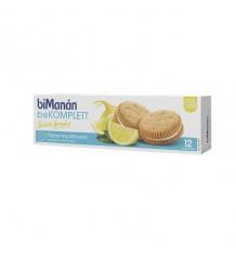 Bimanan Bekomplett Biscoitos de Limão e Baunilha, 12 Unidades