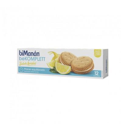 Bimanan Bekomplett Cookies Zitronen-Vanille 12 Einheiten