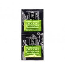 Apivita Express Máscara Facial Hidratante Calmante pera espinhosa 2x8ml