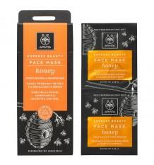 Apivita Express Hydrating Facial Mask Nourishing Honey 2x8ml
