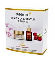 Sesderma Pack Se Age Creme Facial anti-Envelhecimento 50ml + Resveraderm Sérum anti-oxidante 30ml