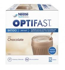 Optifast Shake Chocolat 12 Enveloppes