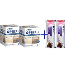Optifast Batido Chocolate Duplo 24 Sobres