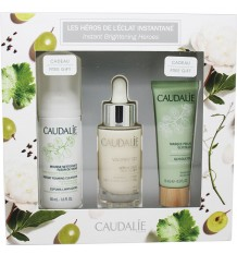 Caudalie Cofre Vinoperfect Serum 30 ml Espuma 50 ml Mascarilla Peeling 15 ml