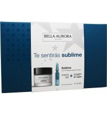 Bella Aurora Sublime Cream Day 50ml + 10 Ampoules Sublime
