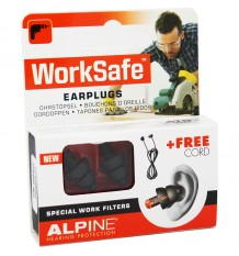 Alpine Worksafe Tampões De Ouvido