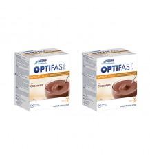 Optifast Chocolate Custard 16 Sachets Duplo