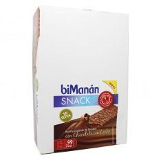 Bimanan Snack Sin Gluten Chocolate con leche 20 Barritas